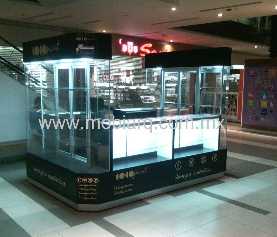 Kioscos comerciales kioskos kioscos para centros - Vitrinas de diseno ...