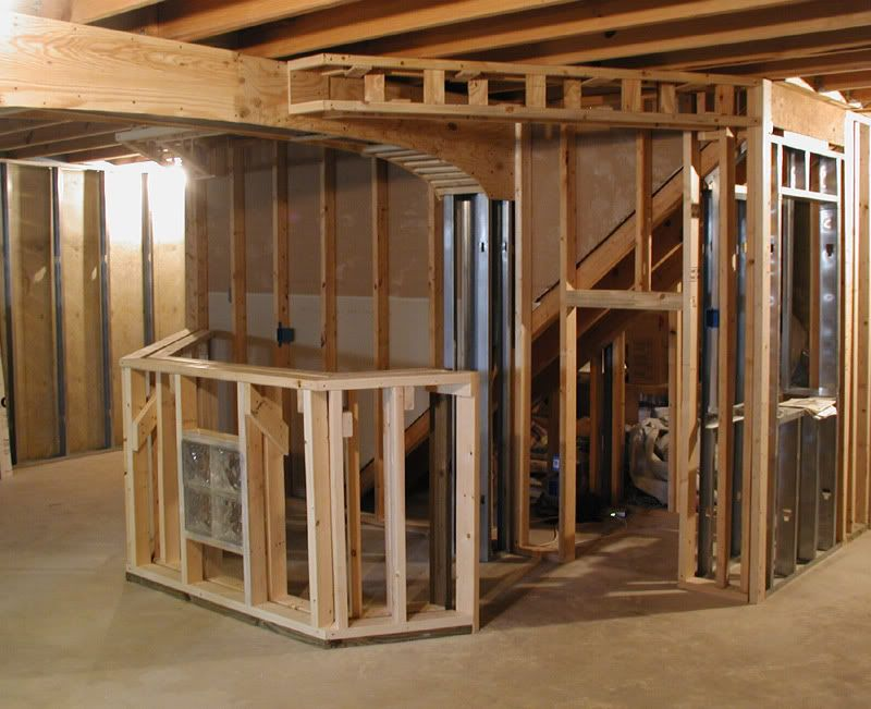 how to build restroom in basement