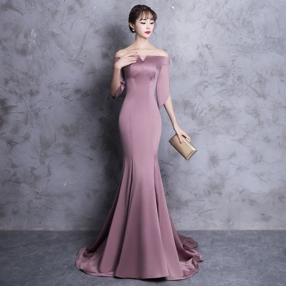 Chic / Beautiful Evening Dresses 2018 Trumpet / Mermaid