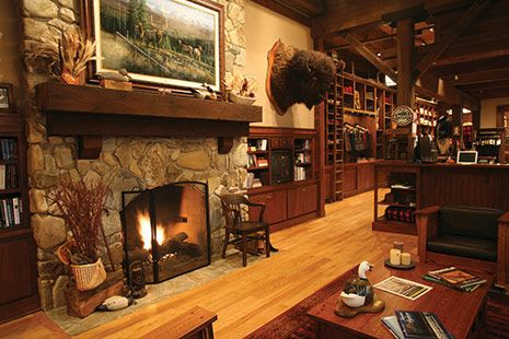 Filson Fire Place Barn Style Home House