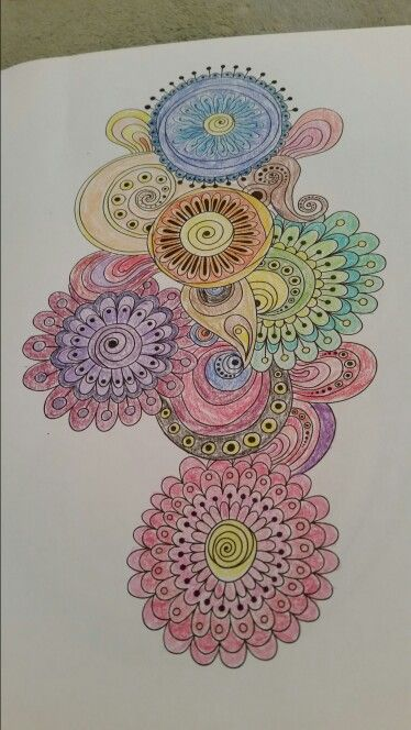 Completed From Colorama Coloring Book Color Me Happy Coloring Pages Coloring Books Color