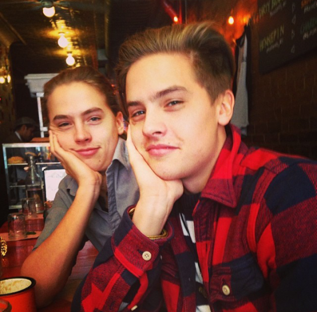 Dylan And Cole Sprouse 2014 Girlfriends Dylan and Cole ...