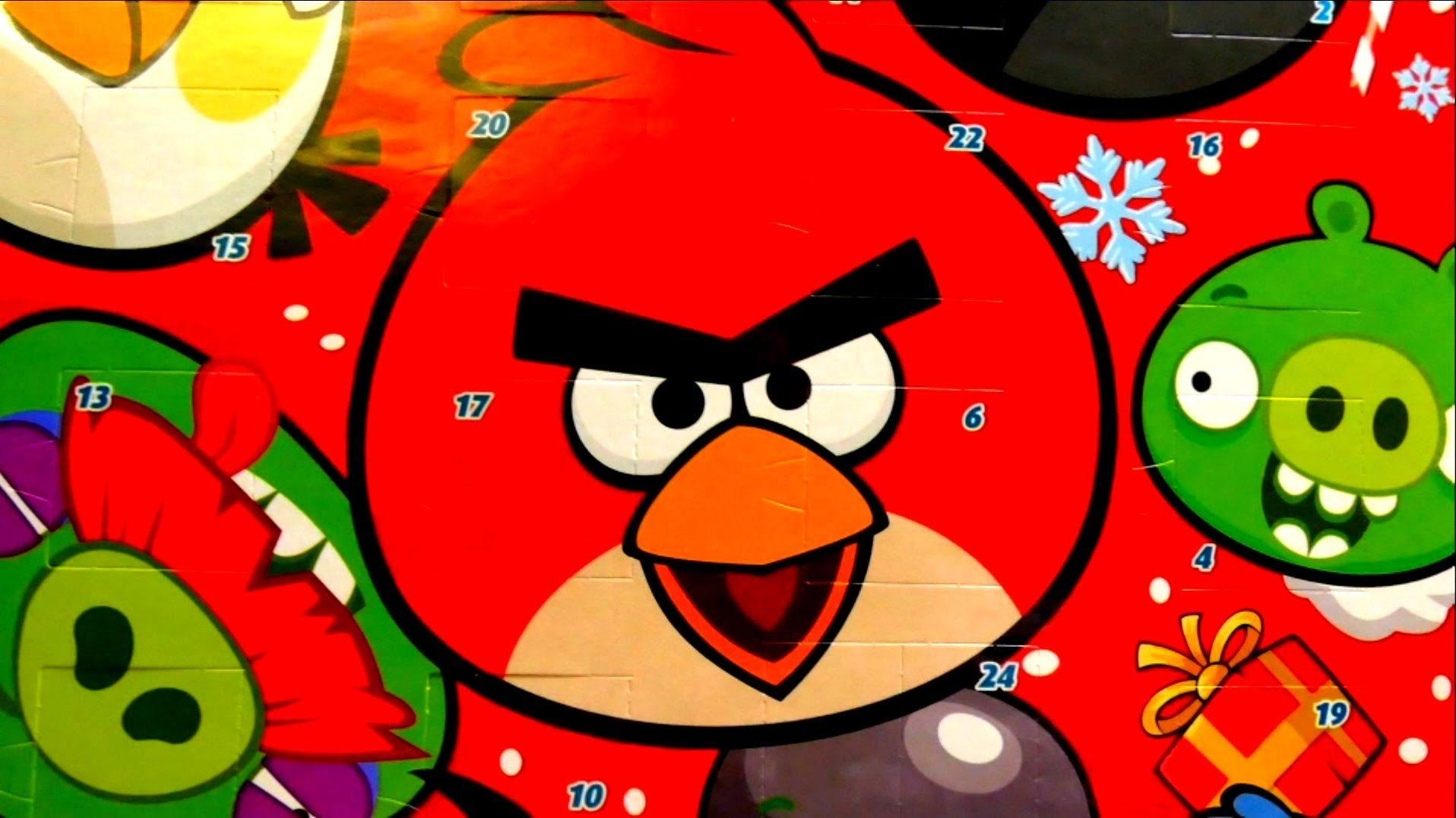 Advent Calendar with Chocolate Angry Birds Angry birds