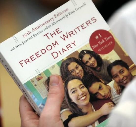 freedom writers diary - 554×518