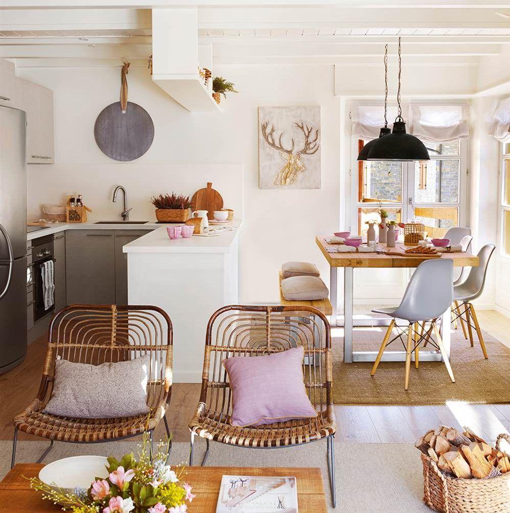 Cocinas abiertas: adiós a la claustrofobia   Interior Design ...