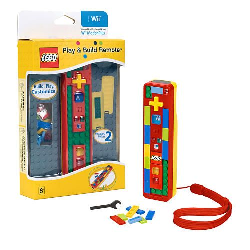 LEGO Play and Build Remote for Nintendo Wii | Nintendo wii, Wii and Lego