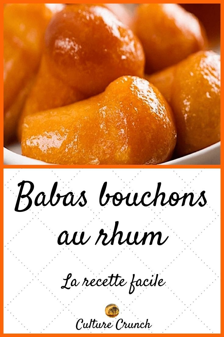 BABAS BOUCHONS AU RHUM : la recette facile #babaaurhumrecette