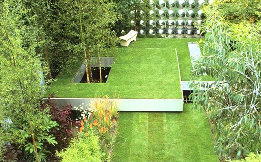 Square garden design how to best transform your limited