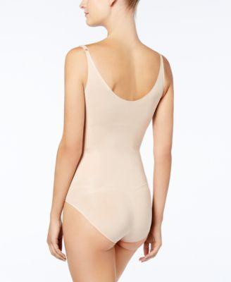 9c14468e87 Spanx Women s OnCore Open-Bust Panty Bodysuit 10129R - Tan Beige S ...