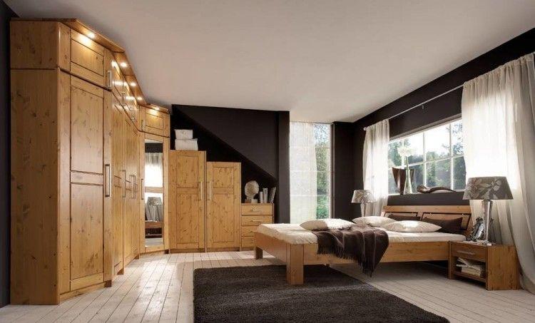 Schlafzimmer Komplett Massivholz Erstaunlich Auf Kreative ...