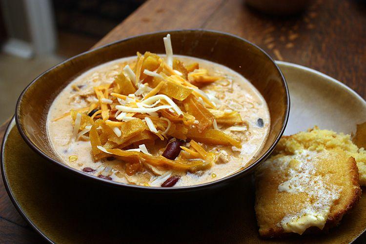 Creamy chicken tortilla soup receta forumfinder Images