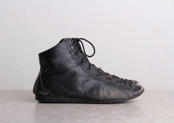 Boxing shoes, Vintage shoes