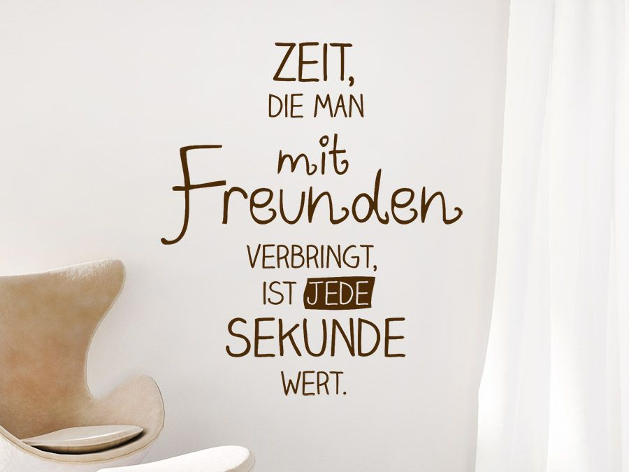 Photo of Time to spend time with friends … | WALLTATTOO.DE