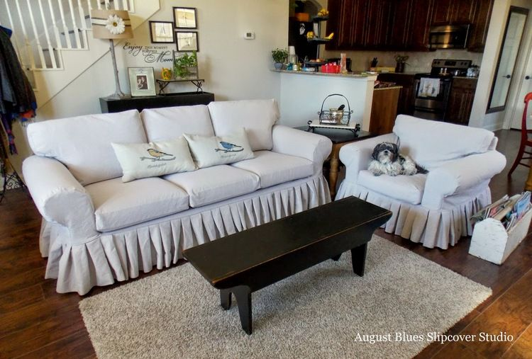 Accent Chairs For Living Room, Blue