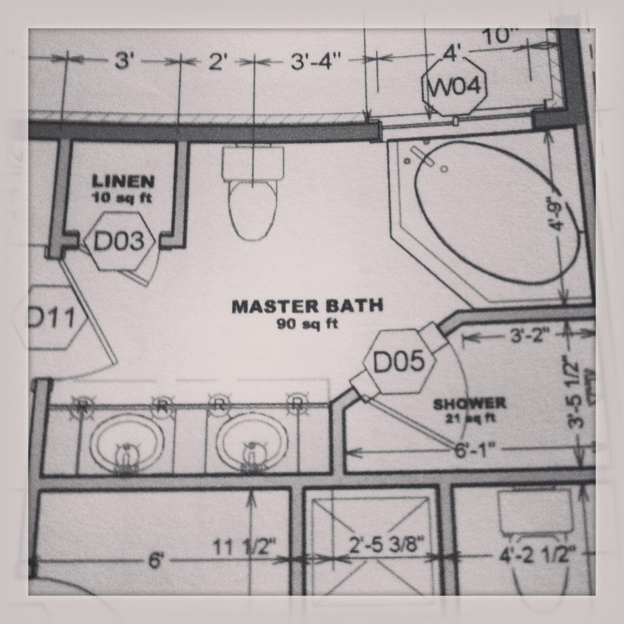 Floor plans master bath bathroom pinterest bath and house