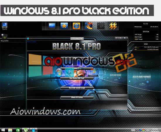 Windows 8 1 Pro Black Edition 2015 X64 Activated Pro Black Norton Internet Security Black Edition