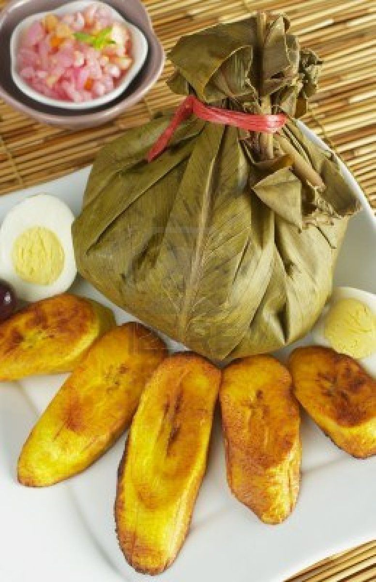 Traditional peruvian food called juane from the jungle for Authentic peruvian cuisine