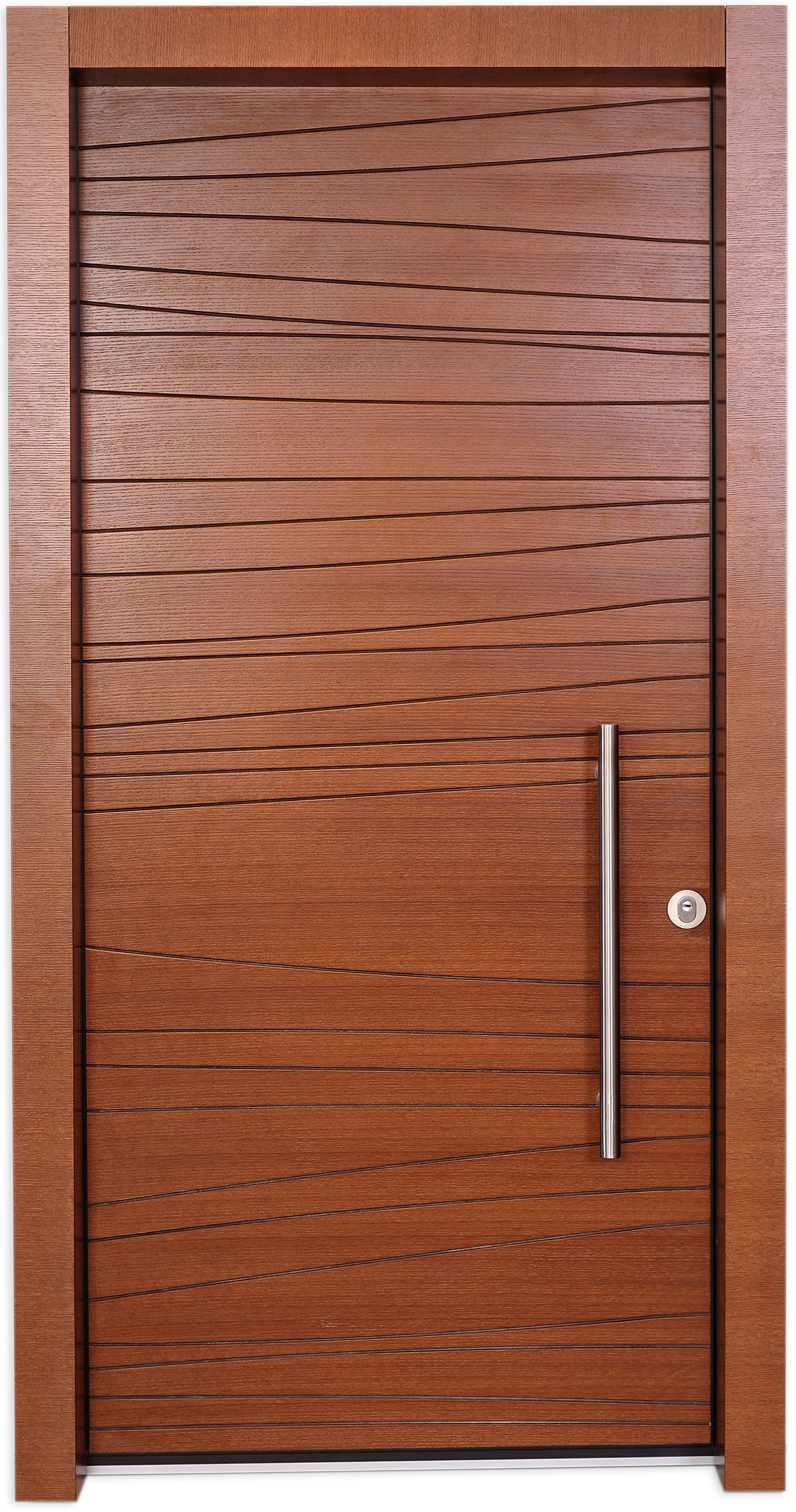 Shdema door is designed using a simple free line engraved for Simple main door design