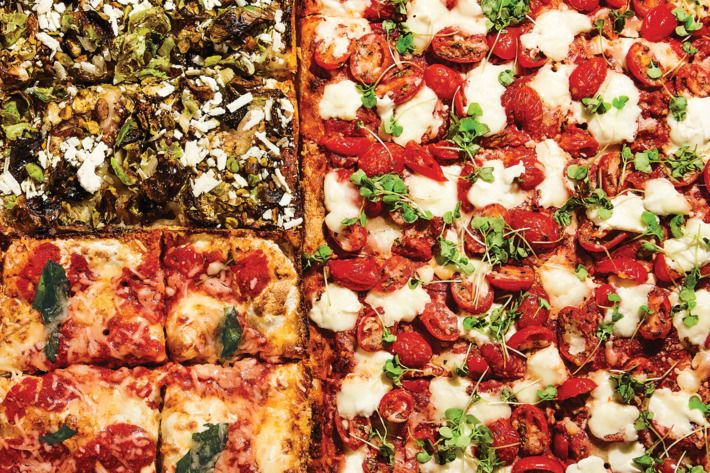 2017 Is The Year Of The Square Pizza Square Pizza Pizza Soul Pizza