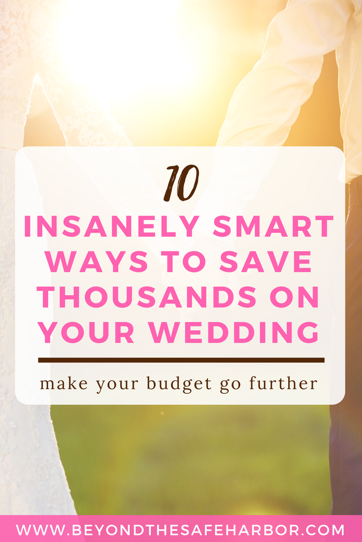 How to Plan an Affordable Wedding: 10 Insanely Smart Ideas | Average ...
