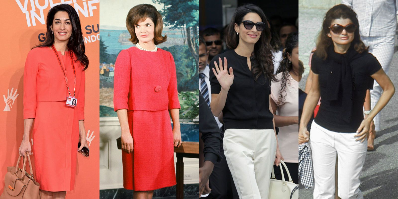 14 Photos That Prove Amal Clooney Is Jackie Kennedy Incarnate  - MarieClaire.com