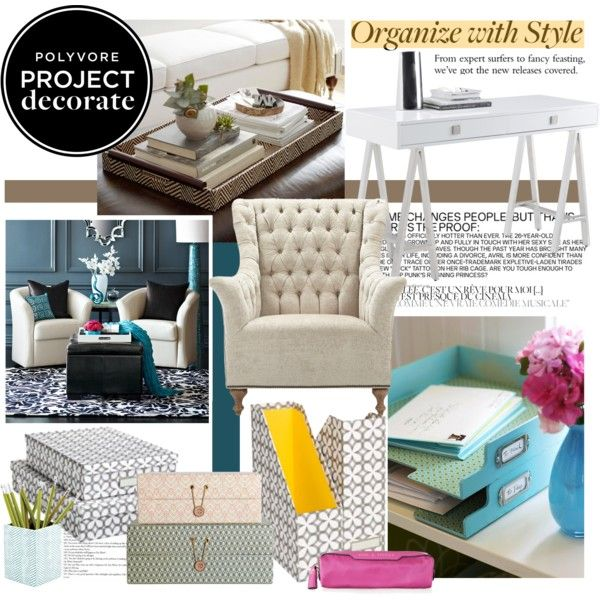 Project Decorate: Organize With Style With Bright, Bold & Beautiful