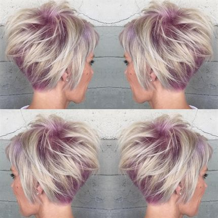 Pink Shadow Root Cut and Color - Behindthechair.co