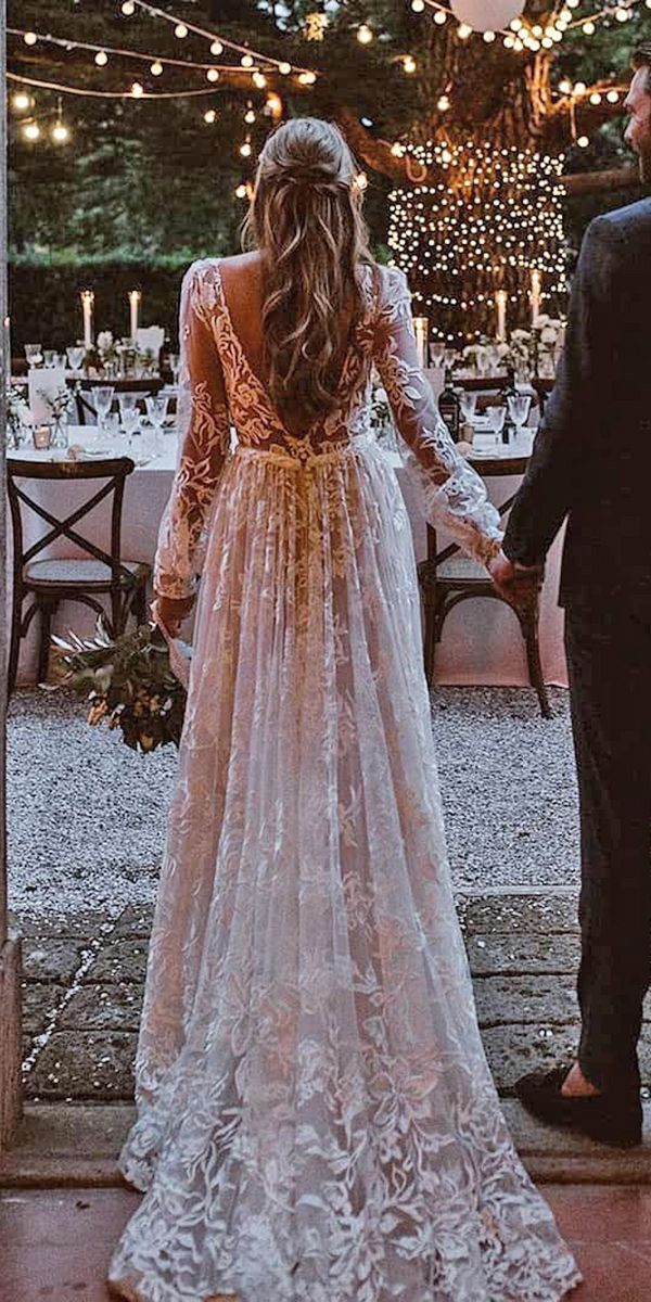 24 Rustic Wedding Dresses To Be A Charming Bride | Wedding Dresses Guide