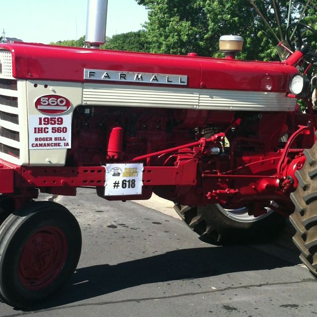 1959 Farmall 560 International Harvester Farming Tractors Monster Trucks Tractor