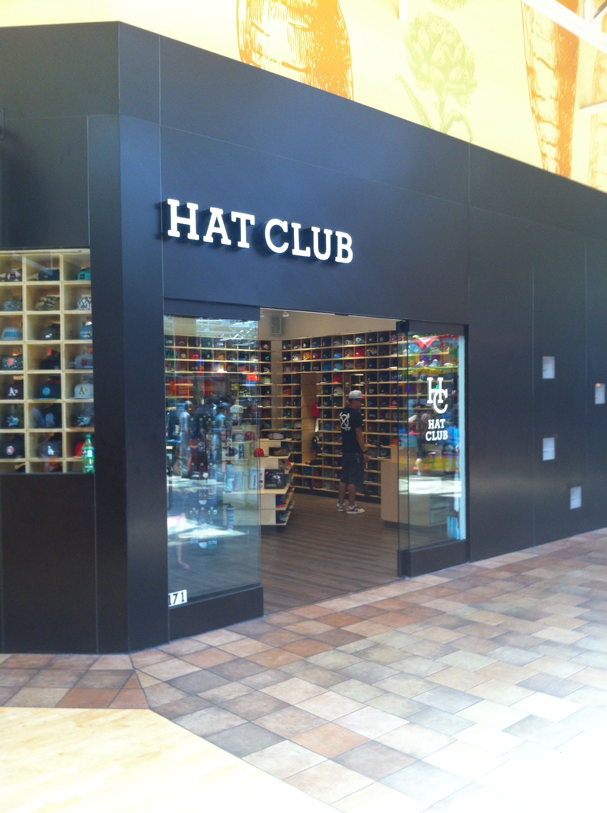 Hat Club Great Mall Milpitas Ca Retail Concepts Decor Home Decor