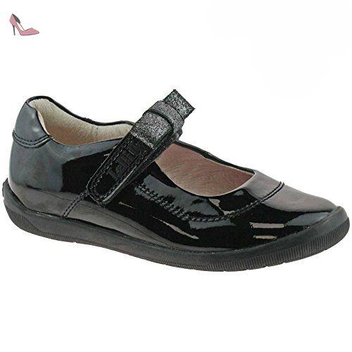 Lelli Kelly LK8286 (DB01) Black Patent Frankie School Shoes F Fitting-31 (UK 12.5) 0WzXnZQ