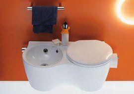 Ideal Standard Wc E Bidet Uniti.Ideal Standard Twin Tiny Spaces Pratical Ideas