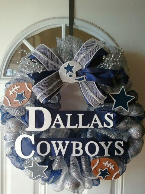 Dallas Cowboy Craft Ideas