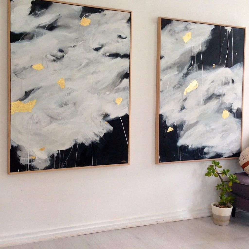 From a MidCentury home to contemporary apartment or classic terrace, these paintings suit any decor style making them a winning duo for any bedroom or living area.