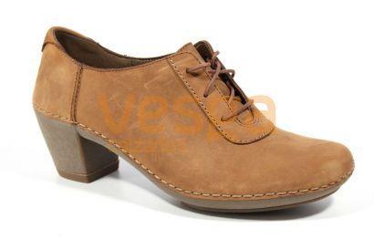 Zapatos Cordones Cuero Mujer View Emerson Mujeres Clarks vqfxEE