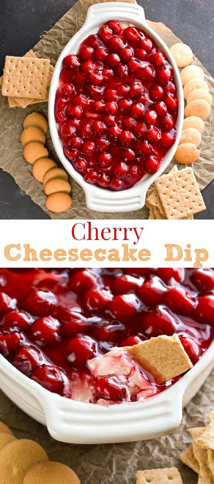 Cherry Cheesecake Dip – Thanksgiving Food List: 15 Creative Food Ideas for A Fab…
