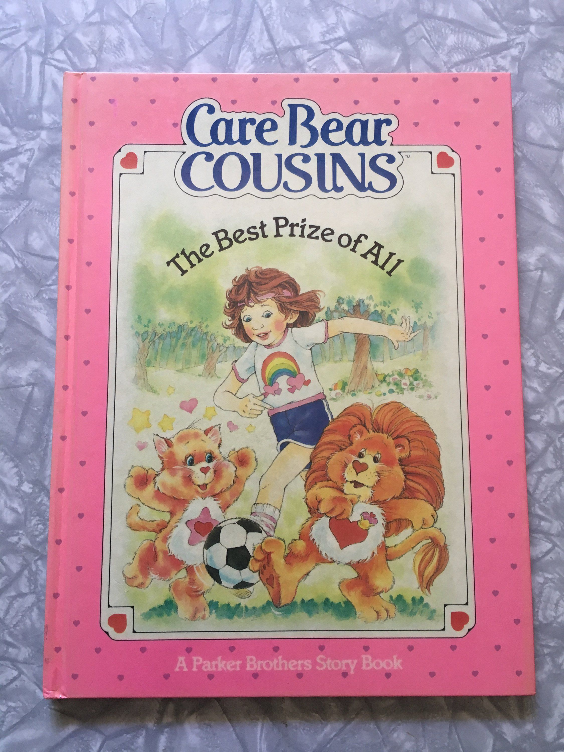 1985 Care Bear Cousins The Best Prize Of All Hardcover Childrens