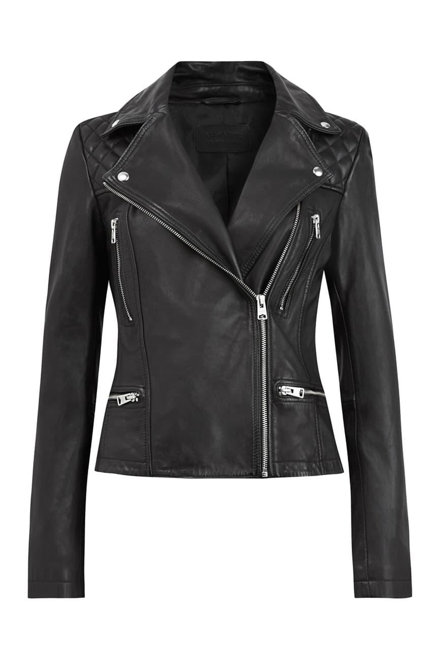 Allsaints Catch Leather Moto Jacket Nordstrom Rack Leather Jackets Women Leather Jacket Leather Moto Jacket [ 1300 x 867 Pixel ]