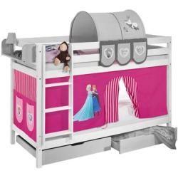 Lit superposé Disney's Frozen avec rideau en hauteur, 90cm x 190cmWayfair.de  – Products
