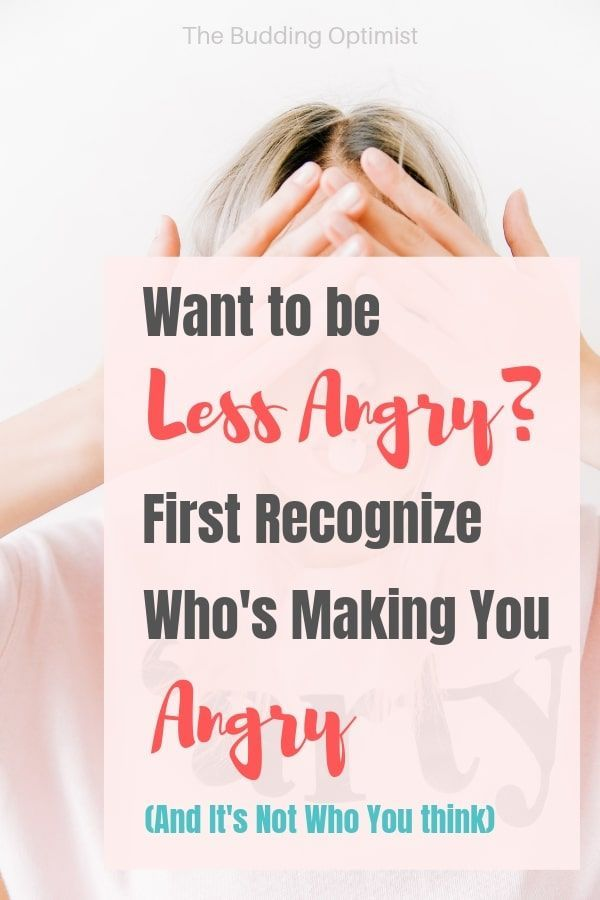 Want To Be Less Angry? First Recognize Whos Making You