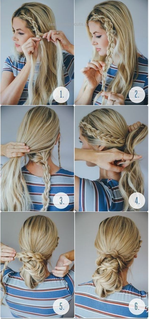 Hairstyles For School Easy Optimize The Potential Of Your Long Hair With Easy Hairstyle For