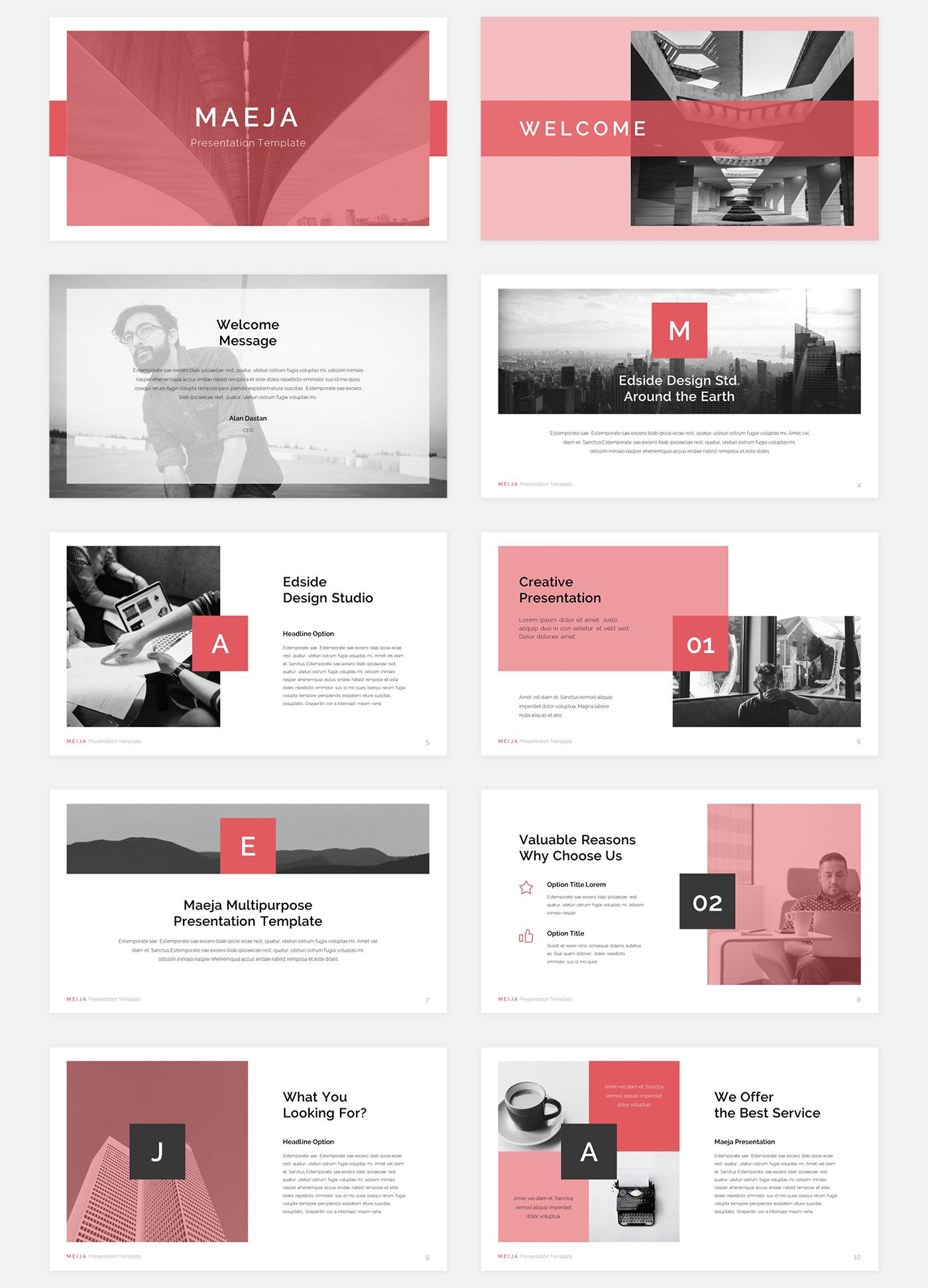 Maeja Presentation On Behance Presentation Design Layout Presentation Design Powerpoint Presentation Design