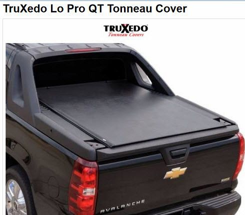Bedcover Tonneau Cover For Chevy Avalanche By Truxedo Avalanche Truck Chevy Avalanche Tonneau Cover