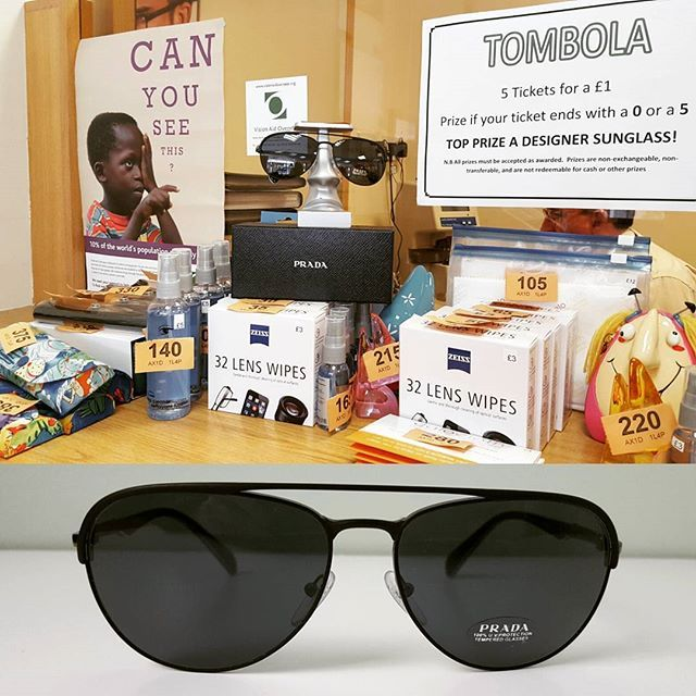 Many prizes still to be won in our tombola including this aviator - Equipment Bill Of Sale