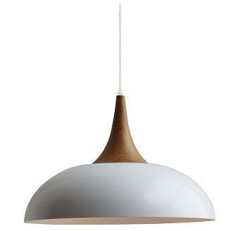 Nordic Wood Top Metal Pendant Light #pendantlighting