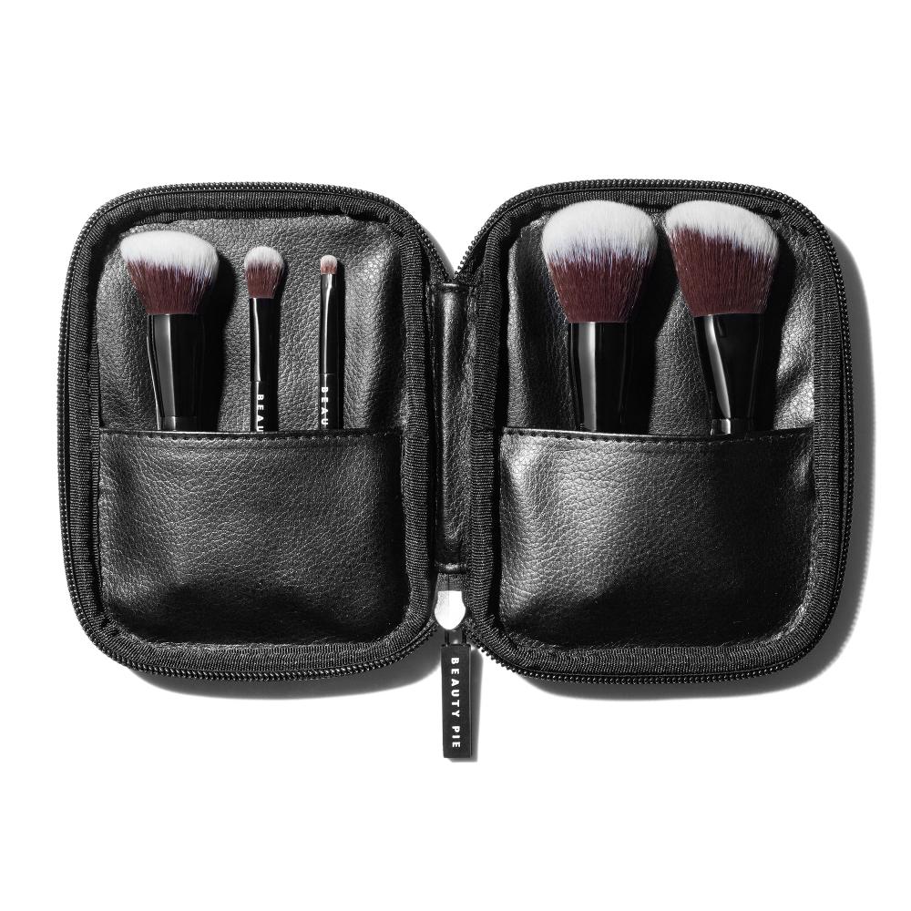 Pro Travel Makeup Brush Set Beauty Pie In 2020 Travel Makeup Brushes Makeup Brush Set Face Makeup Brush