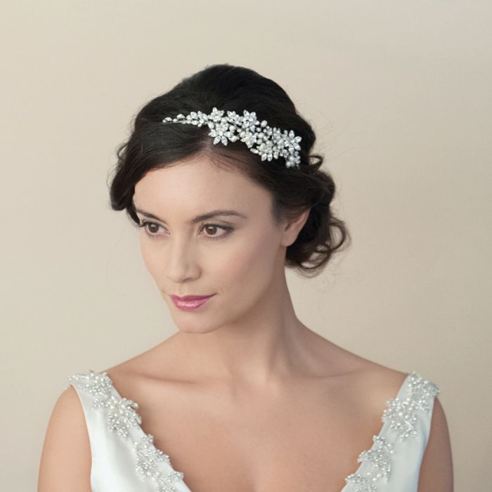 Dior Crystal Blossoms And Pearly Sprig Headpiece
