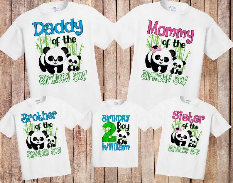 Matching Family Shirts Kung Fu Panda Birthday shirts Birthday Boy or Girl Kung Fu Panda Personalized Shirts