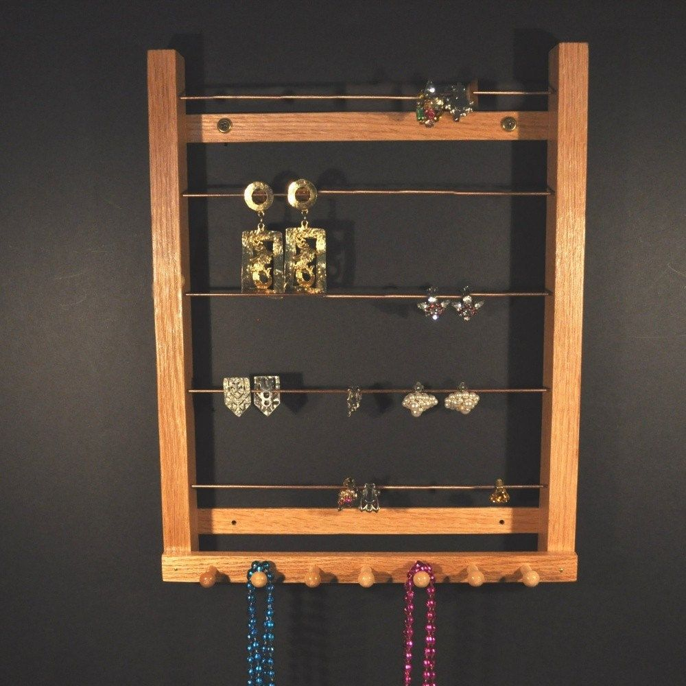 Medium Hanging Earring Holder Earring Display Earring Storage