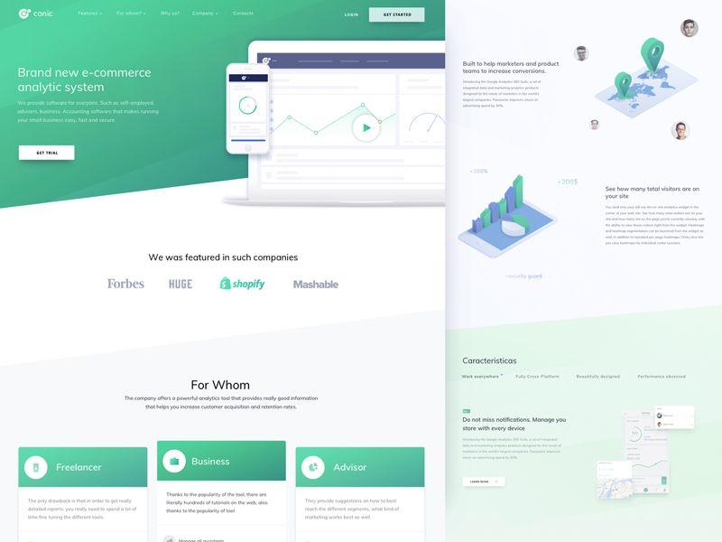 E Commerce Analytics System Website Design Website Design Ecommerce Website
